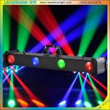 36 X 1W RGBW quatro cabeças Club Stage Luz estroboscópica