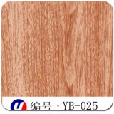Yingcai 1mの幅の木製の穀物3Dの昇華フィルム