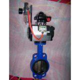 Válvula de borboleta pneumática D64X-10/16 (DN40-DN1200)