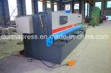 Macchina di taglio 4*6000 dell'oscillazione di CNC di QC12k del piatto idraulico del fascio
