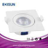 Proyector redondo de la luz de techo de SMD LED Rotatble 5W 7W LED para el hogar