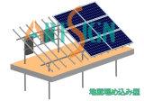 شمسيّ قاعدة [سستم-ترّس] أرض قاعدة نظامة مع [25رس] كفالة