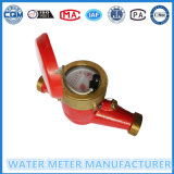 熱湯のためのパルス出力機構の水道メーター