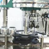 Remplissage automatique de l'eau gazeuse Ligne d'embouteillage de ligne de production pour les canettes