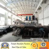 ASTM A53 горячей перекатываться черный стальную трубу для часть кузова из Китая производство