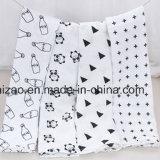 Alta calidad de envolver de gasa de algodón 100% mantas para bebés