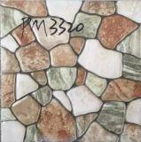 Jardín mosaico de suelo rústico de inyección de tinta
