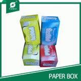 Cartón de embalaje de papel de impresión CMYK para aperitivos