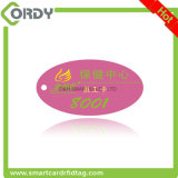 CYMKの印刷NTAG213 NFC PVC主札かkeyfob