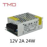Hohe Leistungsfähigkeit 24V 15V 12V Wechselstrom-Gleichstrom-Schaltungs-Stromversorgung mit dem Cer genehmigt