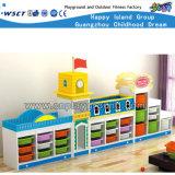 La combinación de plástico de Continental de armarios de almacenamiento de los niños (HC-3201)