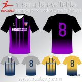 Haut de la vente de vêtements de sport Designer Healong Cutomized SUBLIMATION Maillot de football