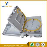 ODF FTTH 1*12 PLC 쪼개는 도구 Sc APC 섬유 플라스틱 상자 Otb