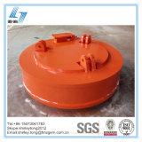 Kreisanhebender Elektromagnet für Gabelstapler-anhebende Schrotte