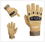 Airsoft戦術的で完全な指の軍のAirsoftハンチング循環のスポーツの手袋