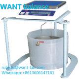 500g 0,01 g de precisión digital de alta densidad de la escala de los saldos de las escalas de medida Hydrostatical Hydrostatical diversas parte sólida de la fábrica de densidad