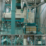 Máquinas para produção de farinha de trigo para a Etiópia (80t)