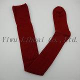Alti calzini delle calze del banco degli allievi del doppio ginocchio di bambù su ordinazione del cilindro