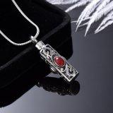 L'incinération d'acier inoxydable de cru incinère le collier pendant d'urne pour le souvenir