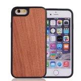 accesorios para teléfonos móviles, teléfono de madera real caso para el iPhone de materias primas de plástico para el iPhone 7