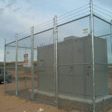 Kurbelgehäuse-Belüftung beschichteter galvanisierter Maschendraht-Zaun Secutiry Zaun