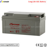 12V 65ah geben Pflege-Solargel-Batterie in China frei