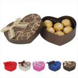 Contenitore di imballaggio operato del regalo del cioccolato di Cuore-Figura con l'arco