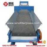 1000mm PP Filtro Prensa automática rebajado con cinta transportadora
