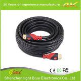 cable de alta velocidad del 1.5m 1080P 1.4V HDMI