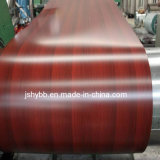 Grãos de madeira PPGI Fabricante da bobina de chapa de aço