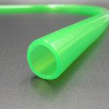 Custom circulaire extrudé en plastique transparent en PVC flexible vert