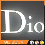 3D muestra de acrílico grande al aire libre de la carta de la tarjeta de la publicidad LED