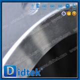 El borde del volante de dirección de Didtek 12inch termina la válvula de puerta de Wcb