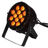 Водонепроницаемый светодиодный индикатор RGBW PAR 12X10W Disco этапе освещение событий