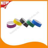 Bracelets faits sur commande de bracelet d'identification de l'usager VIP de Tyvek de divertissement (E3000-1-157)