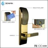 Hotel electrónica à prova de fechadura de porta de segurança com função de alarme