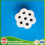 Alto anillo del alúmina con 7 orificios (Al2O3: el 99%)