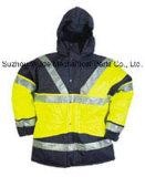100% Polyester Oxford Non-Breathable PVC/PU/PU vêtements respirants d'enduire Parka réfléchissant