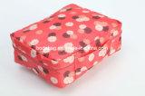 Padrão floral de tecido de nylon viagens dobrável portátil saco cosméticos (-1709056 SEXT)