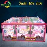 6 Machine van het Spel van de Arcade van de Gift van de Klauw van de Kraan van het Stuk speelgoed van spelers de Muntstuk In werking gestelde