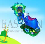 최신 판매 아케이드 동전에 의하여 운영하는 Kiddie 전기 동물성 탐 3D 그네 차 게임 기계