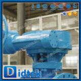 Триппеля шестерни Dn1200 Didtek клапан-бабочка вафли теплого смещенная