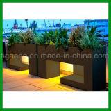 カスタマイズされた工場デザイン通りまたは庭または公園DIYによって上げられるWPCの花壇
