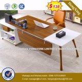 L moderno vector de madera de la oficina ejecutiva del MDF del escritorio de la dimensión de una variable (HX-8N1447)