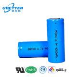 BIS Eable 18650 Li-Ionbatterie-Zellen-Cer RoHS BIS UL-Bescheinigung 3.7V 2000mAh 2200mAh 2400mAh 2500mAh 2600mAh 2800mAh 3000mAh
