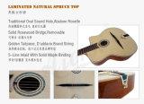 Guitare gitane acoustique libre de jazz d'Archtop de cas et de courroie (GP02)