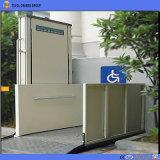 山東Tavolのプラットホームの車椅子用段差解消機の上表