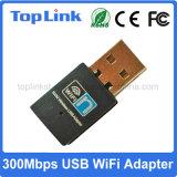 Alta velocidade sem fio de venda quente do cartão de rede do USB WiFi do baixo custo 802.11n Realtek Rtl8192 até 300Mbps