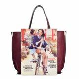 Женщин модельера PU фабрики 2017 Гуанчжоу сумка повелительниц Tote новых кожаный женская
