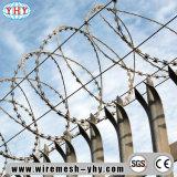 倍によって電流を通される金属の有刺鉄線のアプリケーション